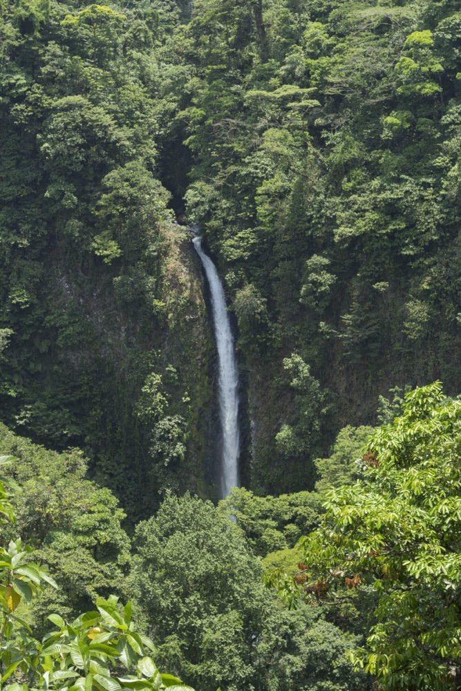 3 in 1 Hanging Bridges + Waterfall and Volcano hike Tour